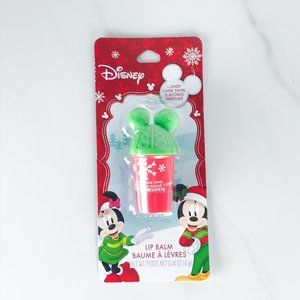 Mickey Mouse Hat Shaped Lip Balm Candy Cane Flavor